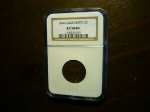 1864(NGC)(LARGE MOTTO) TWO CENT PIECE - A BEAUTY!!!!