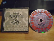 RARE PROMO The Mission U.K. + Wonder Stuff CD 1990 TOUR SAMPLER Sisters of Mercy