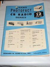 January 1967 SAMS PHOTOFACT CB Radio #12 Citi-Fone Midland Sonar Pace Raytheon