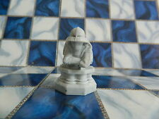 Harry Potter Wizard Chess Board Game - White Pawn Replacement Piece Part only