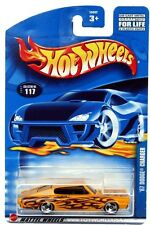 2002 Hot Wheels #117 '67 Dodge Charger 0910 crd with tampo