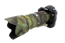 Canon 200mm F1.8 L Obiettivo in Neoprene Cover KIT VERDE MIMETICO