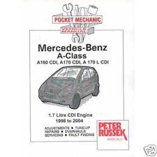 Mercedes Benz A Class & Vaneo 1.7 Diesel models '98-'04