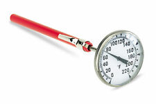 A/C Extra Large Dial Professional Grade Thermometer HVAC Thermometer 0-220° F