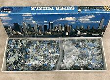Rare Jigsaw Puzzle FX Schmidt Super Puzzle 7,500 Piece 7500 Pieces New York GIFT