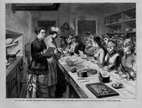 NEW YORK CITY COOKING SCHOOL TEACHER EXPLAINS PREPARATION OF FRENCH DINNER COOK