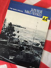 Ijn Light and Heavy Cruiser Japanese Navy Vintage Maru Special Book Vol 44