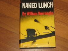 NAKED LUNCH-WILLIAM BURROUGHS-1959-1ST ED 11th-W/$6.00 DJ COLLECTIBLE!