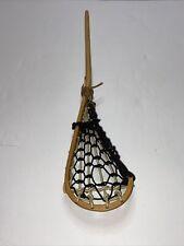 """Vintage Wooden Miniature 24.5"""" Mini Patterson Lacrosse Stick"""