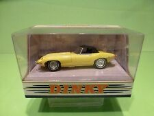 DINKY TOYS MATCHBOX  DY-1B JAGUAR E TYPE MK 1½ - YELLOW 1:43 - NMIB