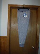 Men's Sport Pants size 1X Unbranded Light Grey Elastic drawstring waist 2 pocke
