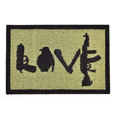 Army Morale Military Patch 3D Embroidered Cloth Tactical Armband Badge Stickers