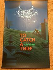 To Catch A Thief Alfred Hitchcock Laurent Durieux Art Print Movie Poster Mondo