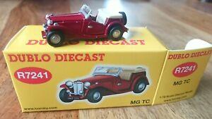 Hornby R7241 1/76 dublo Diecast MG TC Car NEW