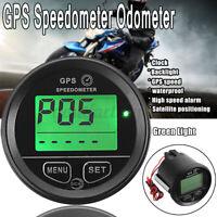 60mm GPS Speedometer Odometer For Motorcycle ATV Marine Boat Go Cart