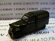 2CV29E voiture Norev citroën 2 CV POSTES azu verte