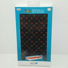 Official Super Mario 1up mushroom star Hard Cover case for the Wii U Gamepad