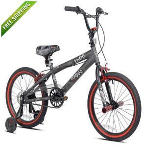 Boys Bike Kid Bikes Children Kids BMX Boy Bicycles With Training Wheels 18 Inch