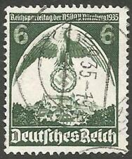 Germany Reich Used 1935 - Plate Error Party Congress Mi:586-II