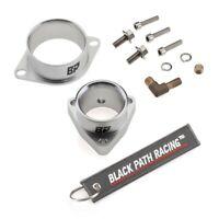 Fits SR20DET T28 S14 S15 GT25 Turbo Compressor Inlet + Outlet Adapter Flange
