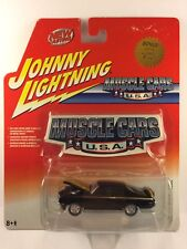 Johnny Lightning Muscle Cars U.S.A. 1970 70 Buick GSX Black Die Cast 1/64 Scale