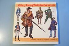 MILITARY DRESS OF NORTH AMERICA 1665 - 1970.