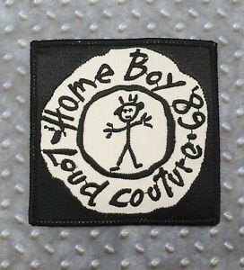 Homeboy Loud Culture 89 Aufnäher Patch Schwarz Weiß Rarität