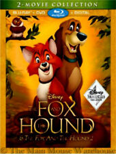 Disney The Fox and The Hound 2 Movie Double Feature Blu-ray DVD & Digital Copy