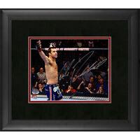FANATICS AUTHENTIC UFC LUKE ROCKHOLD SIGNED 8 X 10 PHOTO FRAMED AUTO CHAMP AKA