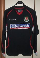 WALES NATIONAL TEAM Training 2008-2010 Shirt Jersey long sleeve Size M