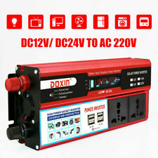 2000W DC12V to AC220V Power Inverter Modified Sine Wave Charger Converter 5V USB