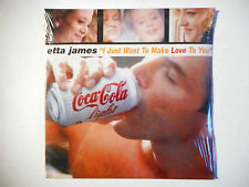 ETTA JAMES : I JUST WANT TO MAKE LOVE TO YOU ♦ CD SINGLE NEUF ♦