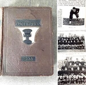 RARE LOU GEHRIG (Before Yankees & Babe Ruth) 1923 COLUMBIA COLLEGE YEARBOOK