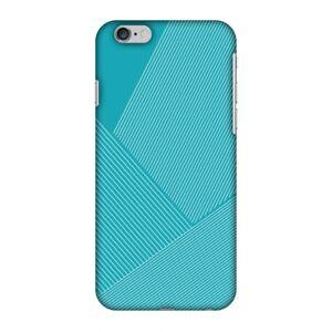 AMZER Snap On Designer Case Redux Aqua Blue 1 Plastic Protective Phone Cover