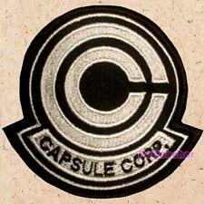 Capsule Corp Patch Deluxe Edit Logo Dragon Ball Z DBZ GT Kai Vegeta Piccolo Guku