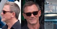 Vuarnet Sunglasses VL000600032136 LEGEND 06 Brown & Brownlynx awb Daniel Craig