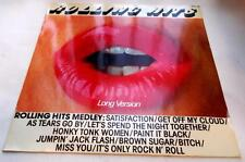 """Rolling Stones Rolling Hits Medley 1981 Philips Roll12 UK Import 12"""" 45rpm EP NM"""