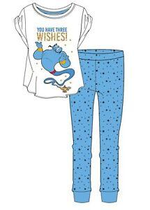 Women's Disney Ariel Dumbo Dalmatians Aladdin Villains Pyjama PJ Set Loungewear