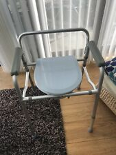 Homecraft folding commode chair and toilet surround