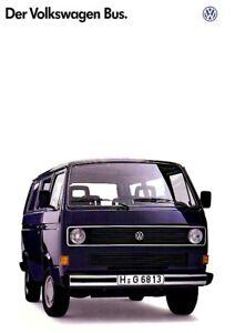VW Bus T3 - Prospekt - Österreich - Bus - 1988