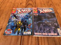 Marvel Comics X-Men Collector's Edition Comic Books - Issue #161 #162