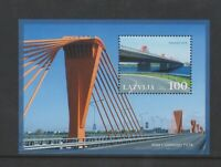 Latvia - 2009, Bridges sheet - MNH - SG MS757