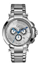 Guess GC x66004g1s GC-4 Executive Men's Watch Silver Stainless Steel Casing