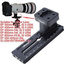 Stativschelle Basis + Kameraplatte für Canon EF 300mm 400mm f/2.8L IS II USM