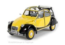 PR8-004A Citroen 2CV Charlston Yellow Black, 1:8 Premium x