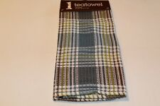 NOW DESIGNS Dish Towel CABIN WAFFLE WEAVE Tea Towel NWT 100% Cotton Multi Color
