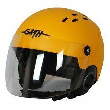 GATH Helm RESCUE Safety Yellow matt Gr. M mit Visier Wasserrettung
