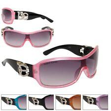 Womens Designer Eyewear Fashion Wrap Sunglasses
