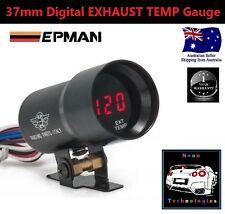 37mm Digital EXHAUST TEMP Gauge *RED LED*EGT Turbo 4WD Diesel Petrol Hilux Prado