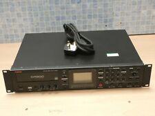 FOSTEX CR-500 RACK MOUNT PROFESSIONAL CD RECORDER, CD REWRITER & CD PLAYER